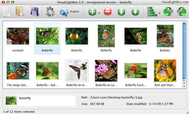 Flickr Gallery for Mac OS full screenshot
