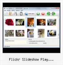 Flickr Slideshow Play Automatically Thumbnail Menu Flickr Css