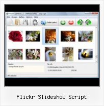 Flickr Slideshow Script Flickr Photos In Joomla