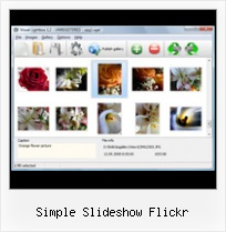 Simple Slideshow Flickr Add Flickr To Blog