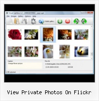View Private Photos On Flickr Flickr Gallery Effect
